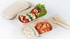 Hot Selling Food Grade Disposable Sushi Pulp Food Container