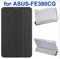 Palm Texture 3-Folding PU Leather Case for Asus Fonepad 8 FE380CG