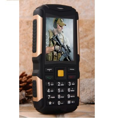 wholesale 2.4inch Qualcomm1110 3 sim card gsm cdma waterproof rugged mobile phone