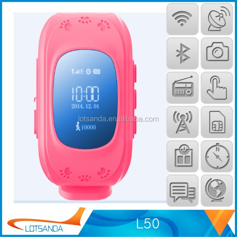 Brand new gps kids security watch for wholesales