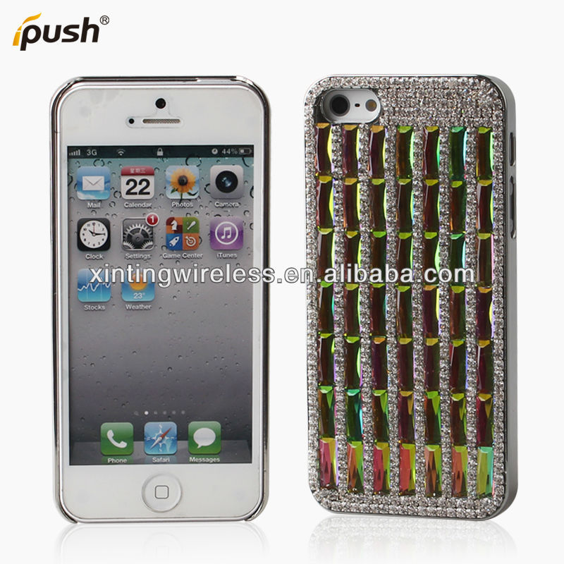 For Apple iPhone 5 Case color brigh Cover crystal smart diamond case