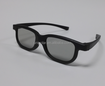 Cheapest disposable professional 3d glasses with 0.2mm lens
