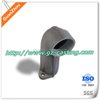 Cheap price OEM customized design aluminum casting auto parts exhaust pipe wholesale