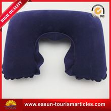 Cheap china inflatable pillow inflight the best inflight pillow inflatable back support pillow