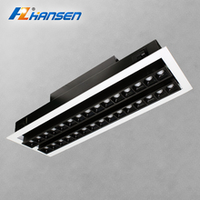 New arrival aluminum housing 40W adjustable led recessed downlight with Dali dimmable driver