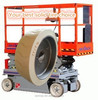 Best price longer running hours FB14*41/2 small solid tyre with rim used on mobile scissor lift platform
