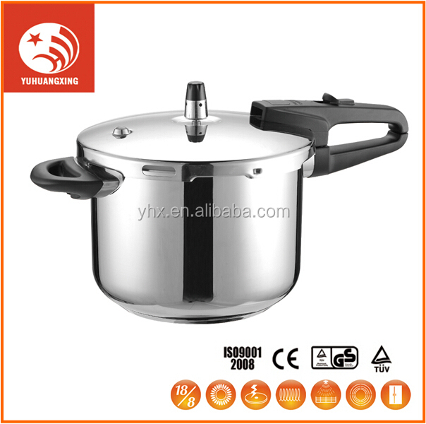 Creamic All Clad 18/10 Stainless Steel Outer Sheel Electric 8 Litre Pressure Cooker Cookware Set