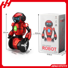 New product WL toy F1 2.4G musical Intelligent balance G-Sensor RC dancing robot with light