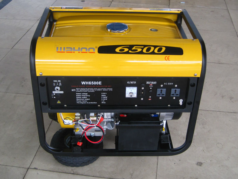 hot selling CE approved 5kw honda engine Gasoline Generator (WH6500-H)