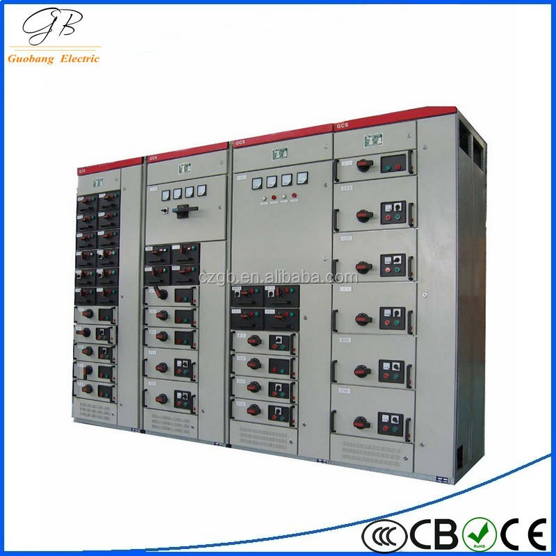GCK Rohs approved oem reactive power compensator 22kw switchgear panel