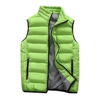Latest Design Cheap Men Padded Sleeveless Waistcoat