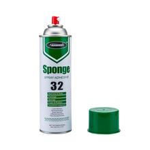 Sprayidea 32 spray adhesive to adhere aluminium foil on Rock wool, Glasswool