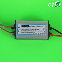 (LED Driver Series)(4~7)*1W LED Driver with 0.6 Power Factor 65x30x21mm