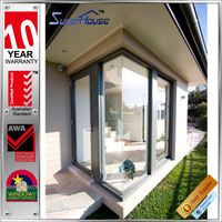 China product hurricane impact hinge hotel entrance doors