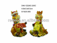 2014 resin horse craft for russia