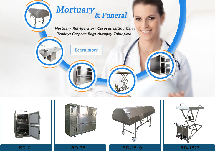 morgue cold chamber stainless steel mortuary drawers price