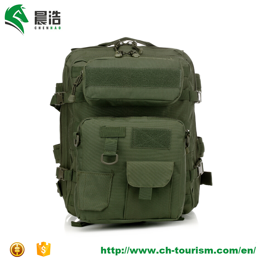 600d oxford army green 3 in 1 day backpack military waterproof backpack camouflage tactical backpack bag