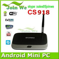 Rockchip RK3188 CS918 Android Smart TV Box Quad core 1.8GHz