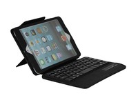 Popular china wireless bluetooth keyboard lether case For iPad mini1 2 3-SPM02