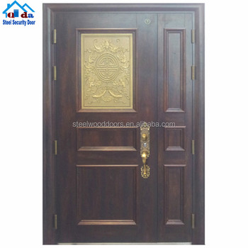 Steel Main Restaurant Hotel Main Entrance Door Design