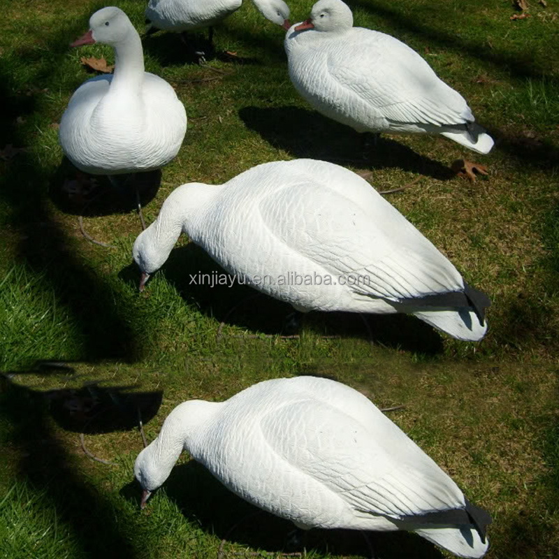 factory OEM snow goose decoys for wild hunting, best selling inflatable Canada hunting goose decoys