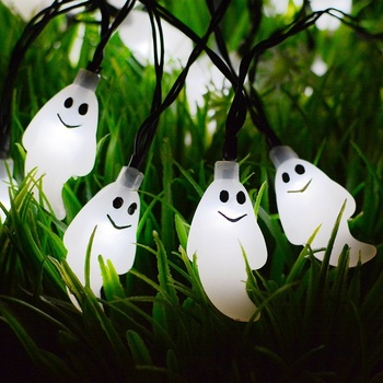 Top Sale 10L 20L Cold White Halloween Ghost String Lights