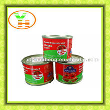 70g Fresh Brix 28-30% Cold Break ,canned vegetable brands