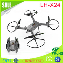New Arrival 2017 2.4G headless folding WIFI camera FPV drone with A Key Landing Drone RTF Mode 2