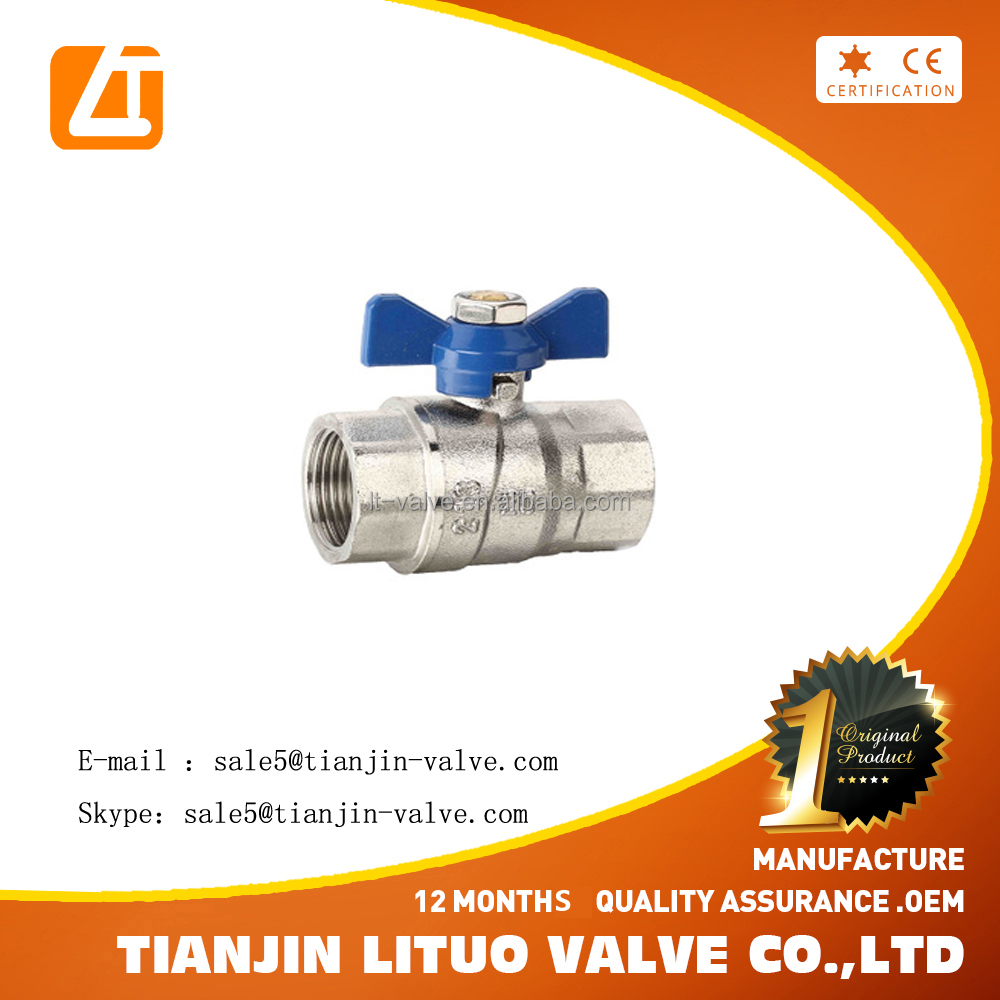 lever operation f304 ball valve
