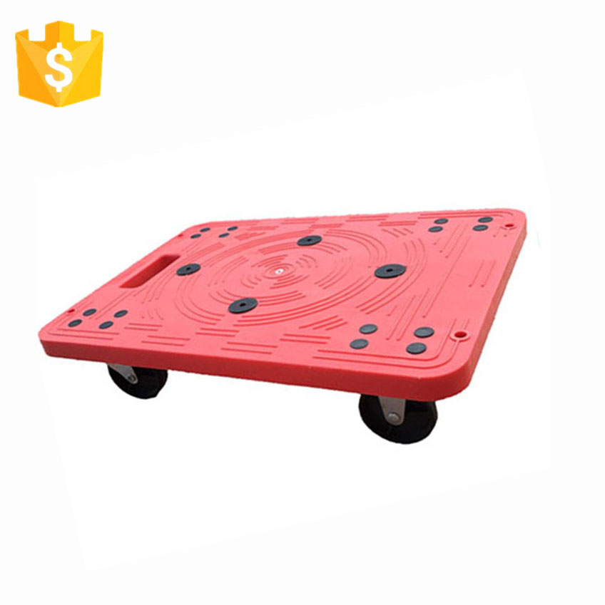 Good Supplier Plyplastic Plastic Moving Mover'S Dolly For Warehouse
