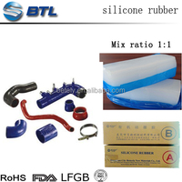 Various hardness silicone for auto parts