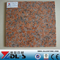 Quarry Stone Cheap Chinese Red Granite Maple Red G562 Thin Tile for Paving and Wall Clading Stone