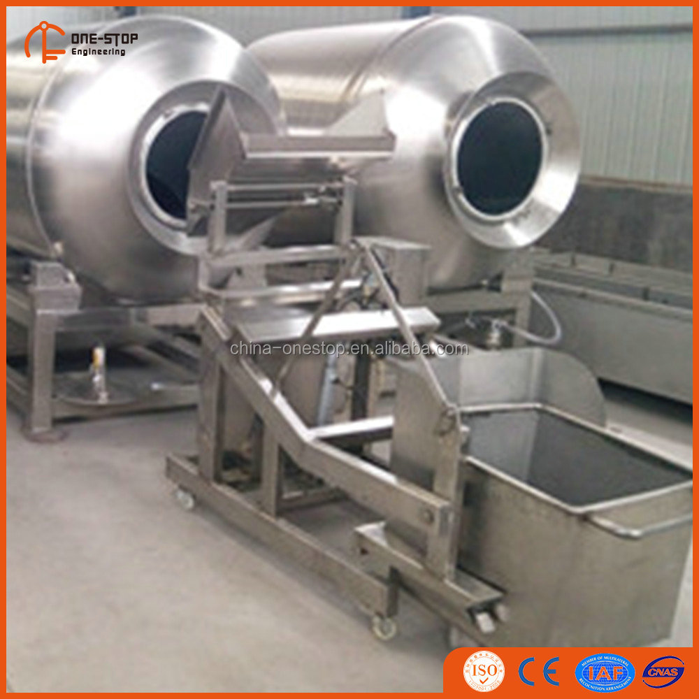 Pickle meat vacuum marinade machine for sheep slaughter processing