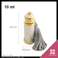 19th Century decoration tassel oud sales perfume bottle for men