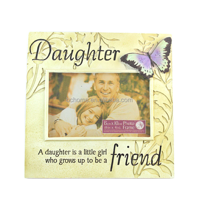 youthful memory photo frame for daughter gifts