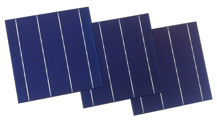 High efficiency A grade/B grade 3BB/4BB poly solar cell made in Taiwan