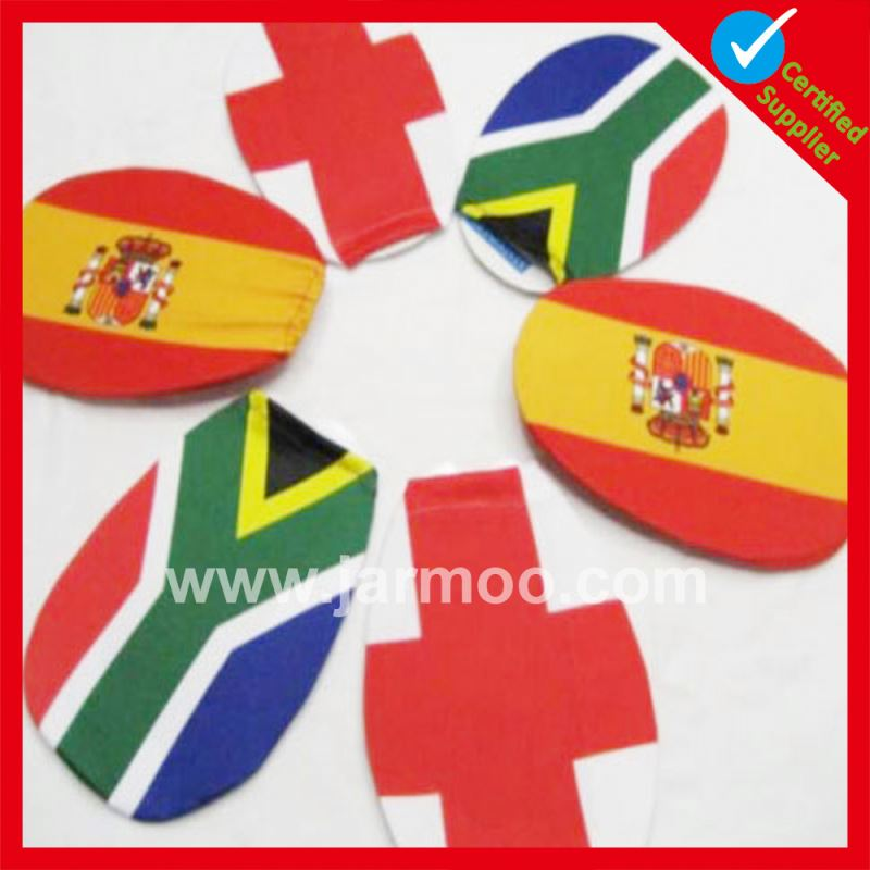 custom cheap spain national day car side mirror cover flag