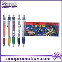 Promotional banner pen GP2314 offer logo printed service promotional pen for advertising