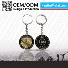 Made in china Cheap custom keychain compass
