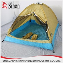 2 person Unique fiberglass pole outdoor camping tent