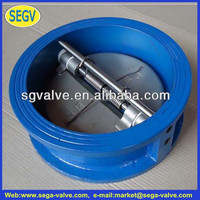 stainless steel 8mm dual plate check valve