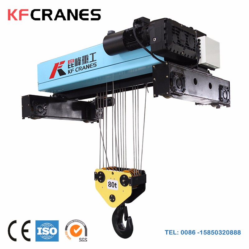 Expert Design Double Girder Overhead Traveling Crane In Machinery/Bridge Cranes 50/20ton