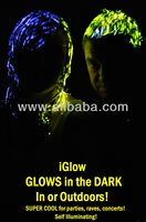 DISTRIBUTORS WANTED iGlow GLOW in th DARK Party Hairgel Use in AND Outdoors Party Concert Rave Events etc Creates Its OWN light