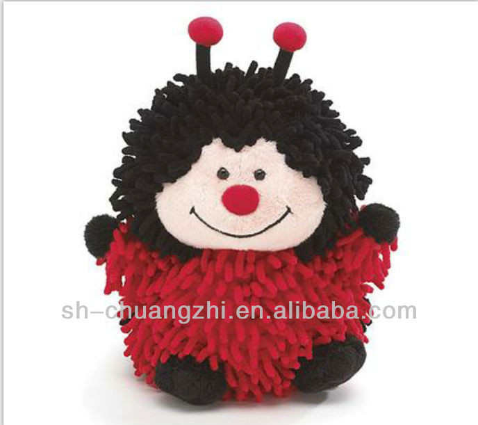 plush little cute ladybug for kids