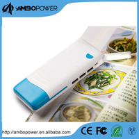 Fast charging flashlight slim rohs new smart usb mobile power bank