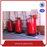 CE Certificated YANO Brand 100kg/hr Fuel Diesel Oil /Gas(Natural Gas, LPG, Coal Gas)Fired Steam Boiler in Cooking Industry