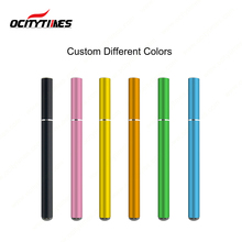 Shenzhen electronic cigarette factory OCITYTIMES custom 600 puff disposable e-cig 120mm e-cigarette with logo print
