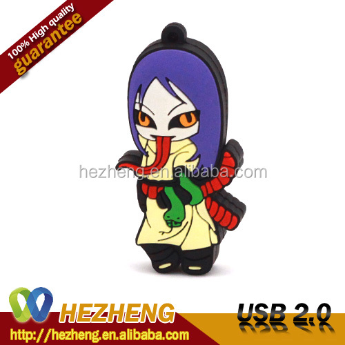 Promotional Cartoon USB Flash Drive 16GB Kids Gift USB Pendrive