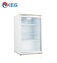 133L Commercial Vertical Store Glass Door Small Countertop Refrigerator Showcase Beverage Cooler Drink Display Fridge With SAA