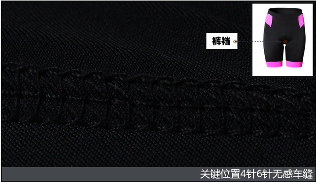 china in stock 1/2 cycling bottoms with high quality cycling pants 3D padding